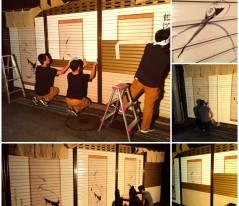 8-あづま屋さん 伊藤若冲:鶴図押絵貼屏風 →詳細ページへ