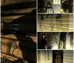 47-平野さん 伊藤若冲:付喪神図 山崎 孝:盆踊り[みずのき美術館] →詳細ページへ